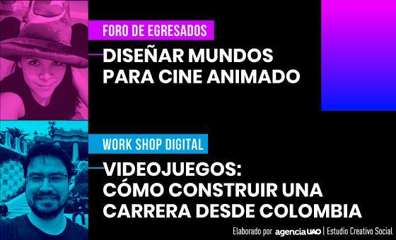 Videojuegos y animación, industrias creativas para el diseño