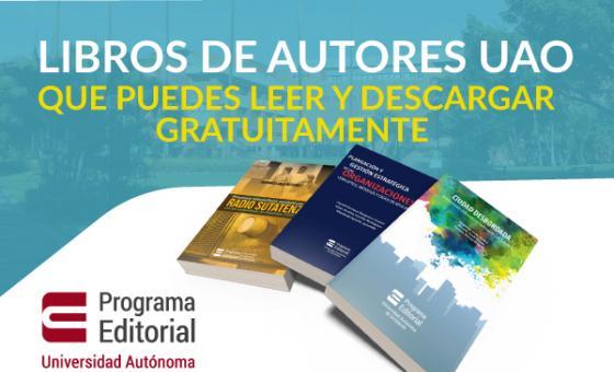 Libros de autores UAO que puedes leer y descargar gratuitamente